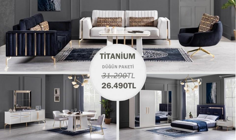 Titanium Gold Düğün Paketi