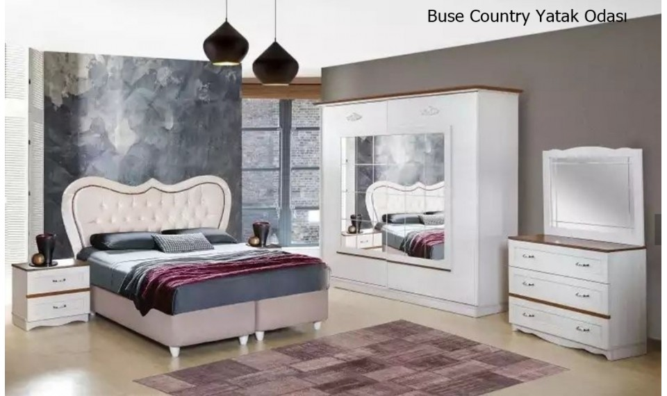 Buse Country Yatak Odası