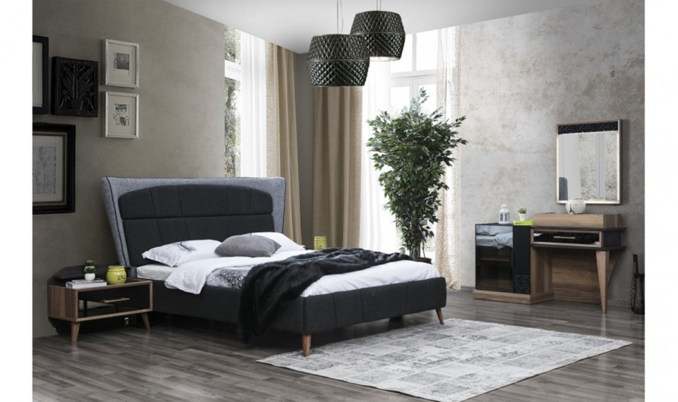 Mudanya Ahşap Boyalı Yatak Odası