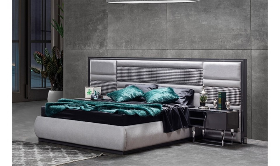 Zen Gümüş Yatak Odası