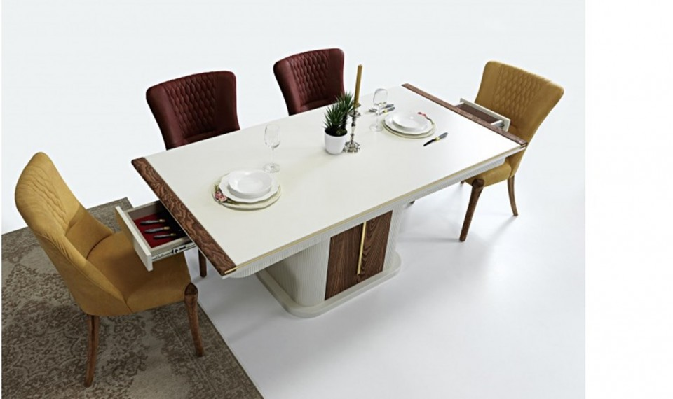Escalade Modern Ahşap Yemek Odası