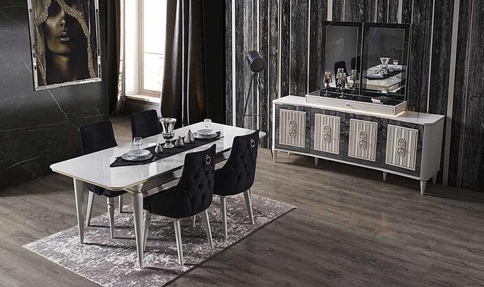 Elit Luxury Yemek Odası Takımı