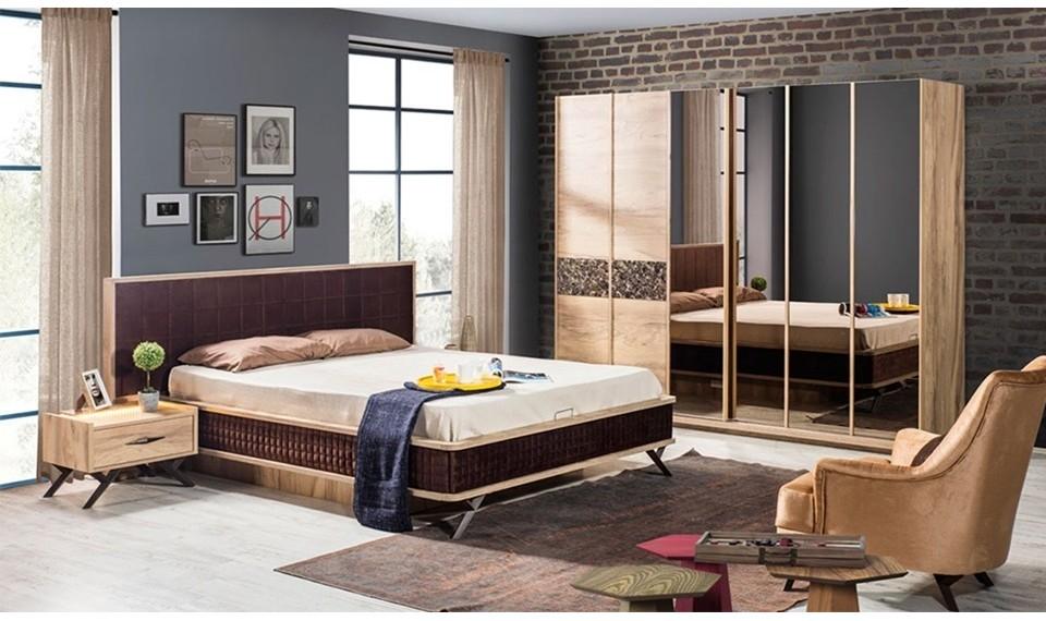 Loft Art Modern Yatak Odası