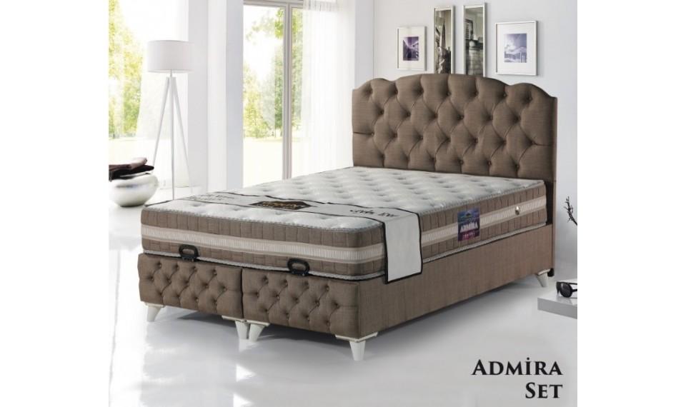 Admira Yatak Baza Başlık Set 160x200