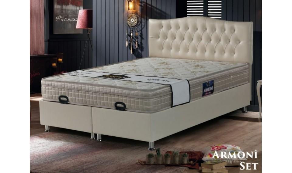 Armoni Yatak Baza Başlık Set 160x200