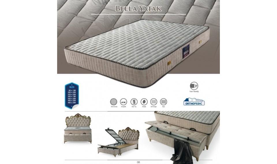 Bella Yatak Baza Başlık Set 160x200