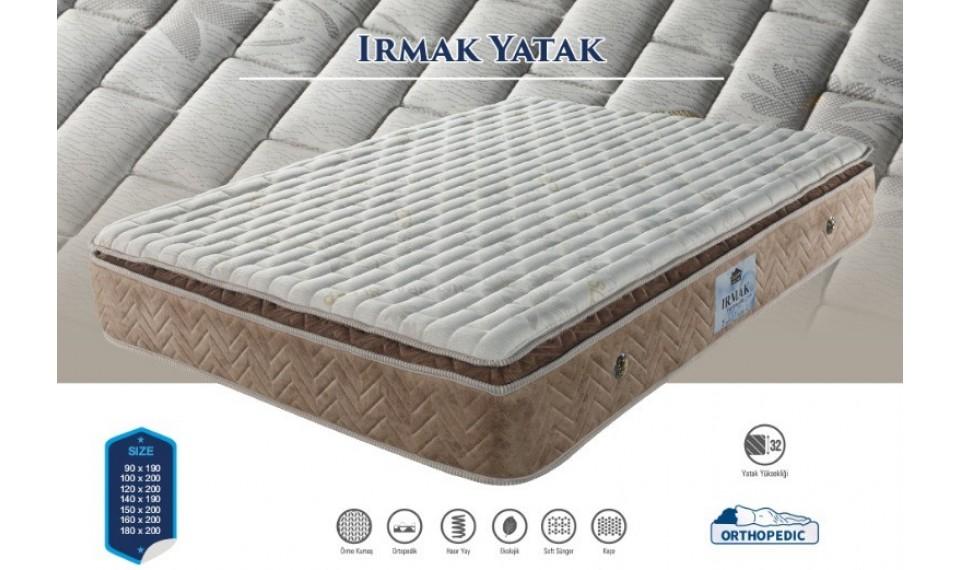 Irmak Yatak Baza Başlık Set 160x200
