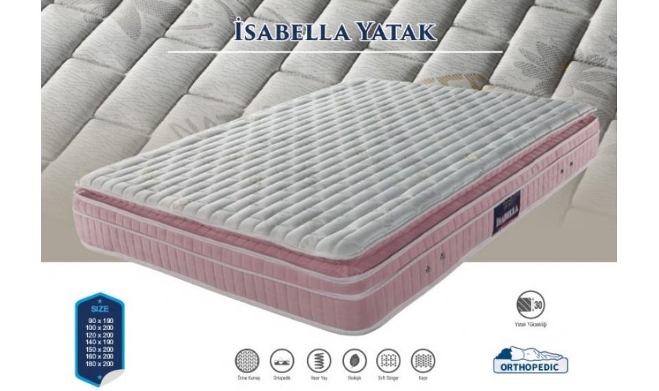 İsabella Yatak Baza Başlık Set 160x200