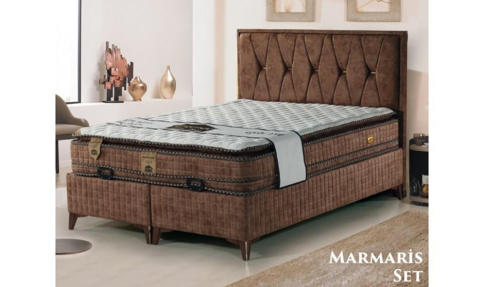 Marmaris Yatak Baza Başlık Set 160x200
