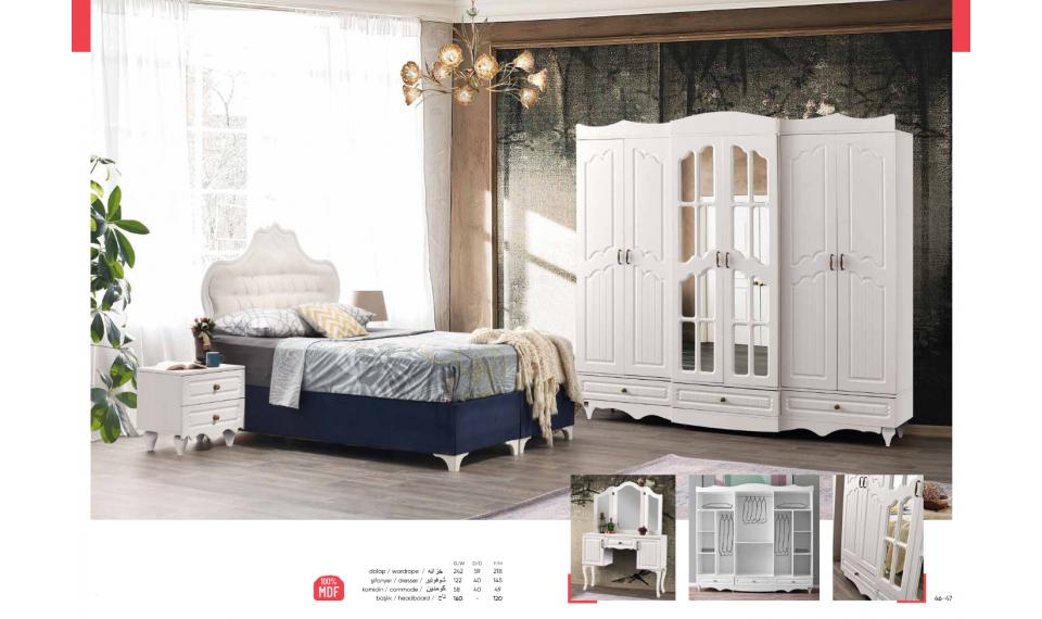 Doğu yatak odası