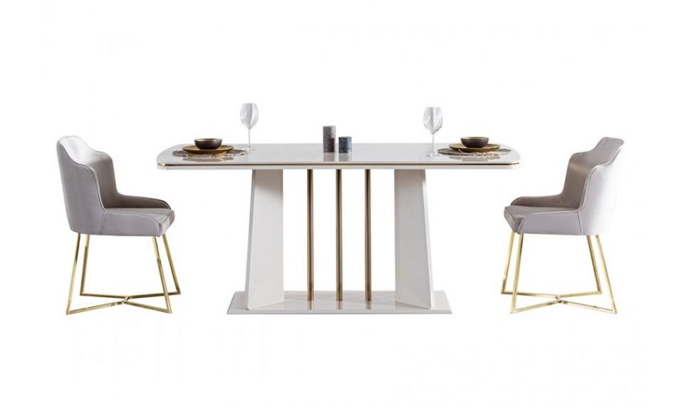 Titanium Gold Yemek Odası